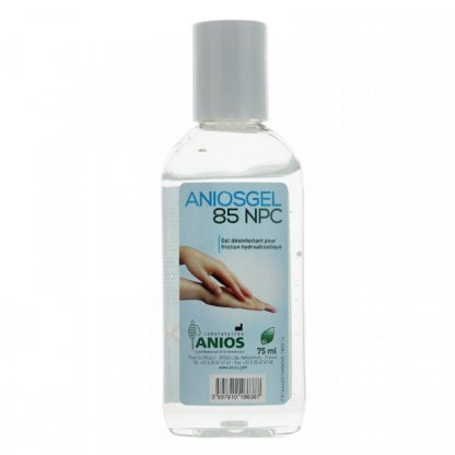 Illustration Aniosgel 85 NPC gel hydroalcoolique 75ml