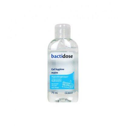 Gel hydroalcoolique bactidose Gilbert 75ml