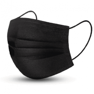 illustration masque chirurgical noir x50